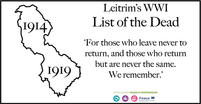 Leitrim WW1 List of the Dead