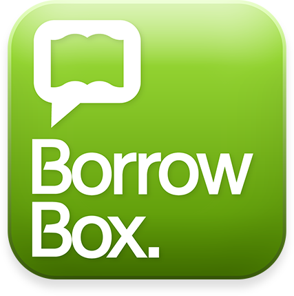 Borrow Box - e-books logo
